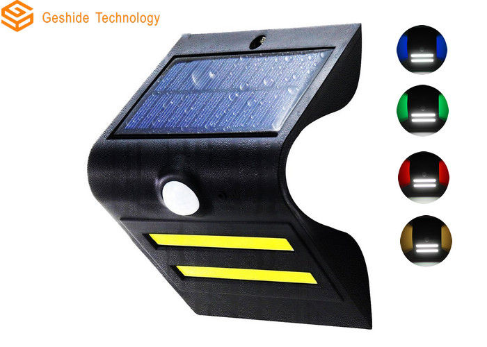 1.5W 150lm LED Solar Motion Light , Black Solar Motion Activated Security Light