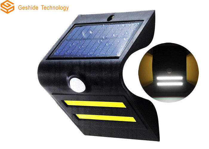 Warm Color Solar Powered Led Motion Sensor Light 1.5W 150lm 50000hrs Warranty
