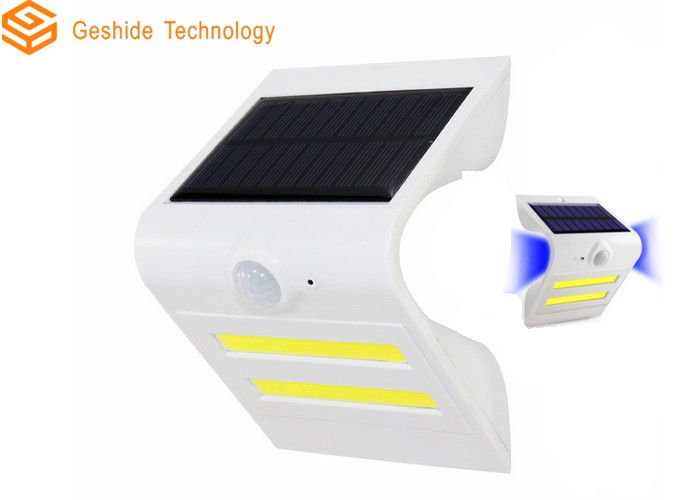 Heatproof Motion Activated Solar Led Light , External Solar Security Lights