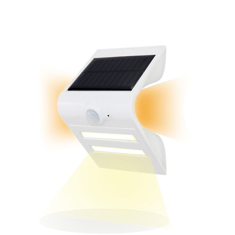 High Power Led Outdoor Solar Motion Sensor Light , Solar Panel Wall Lights Automatically