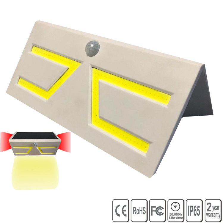 Outdoor New Energy Solar Powered Led COB Walls With Motion Sensor Waterproof Light