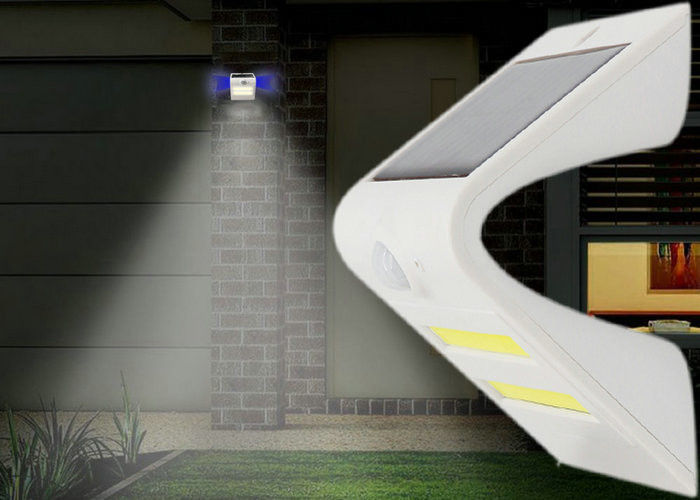 Waterproof Solar Powered Led Security Motion Detector Outdoor Light For Yard