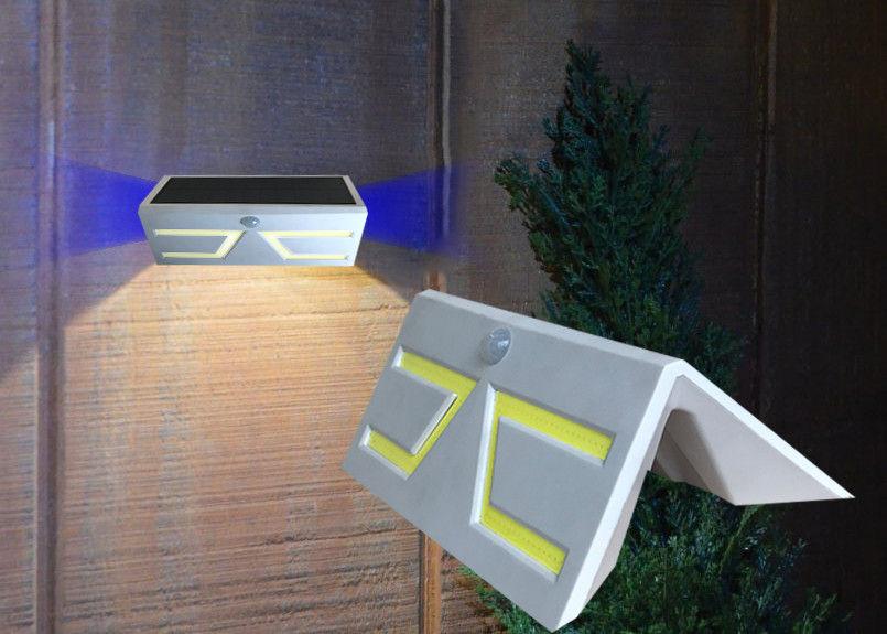 Super Bright Solar Powered Outdoor Lights With Motion Detector , ABS Material