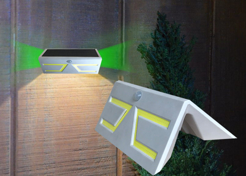 Outside Solar Motion Detector Lights No Strobe 6-8 Hours Charging Time