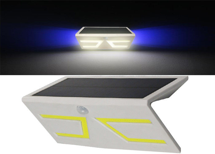 Wall Mounted Solar Battery Powered Motion Lights With RGB Color Changing