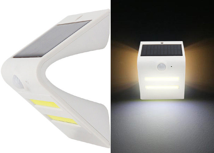 Deck & Rail Lighting Solar Powered LED Wall Light 1.5W 150lm Weather Resistant