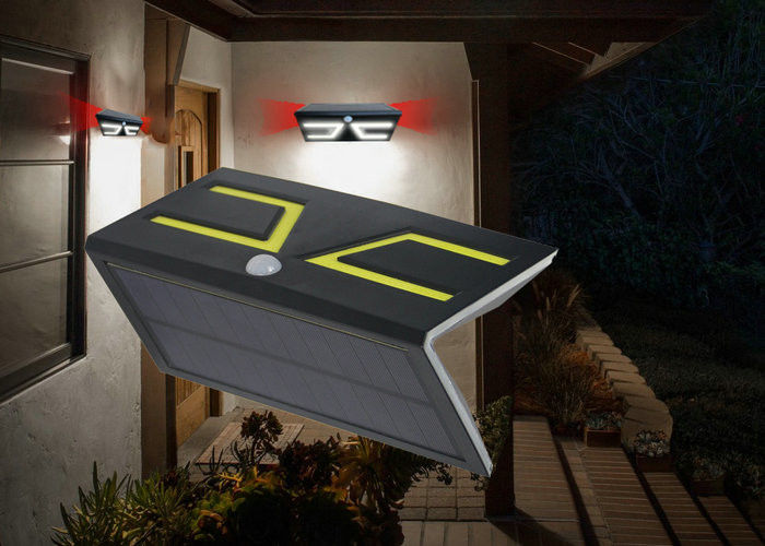 Solar Powered Motion Activated Outdoor Light , High Powered Solar Security Lights