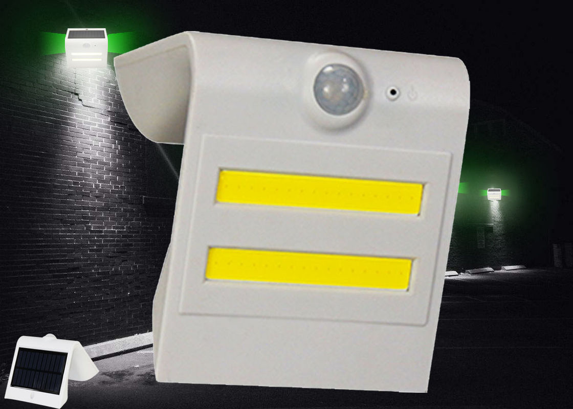 Dustproof Solar Powered LED Wall Light Equipped All , Stick To Whatever Surface