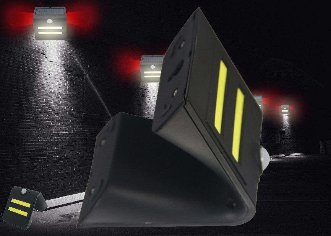 Lithium Battery Powered Led Motion Activated Outdoor Security Light High Brightness