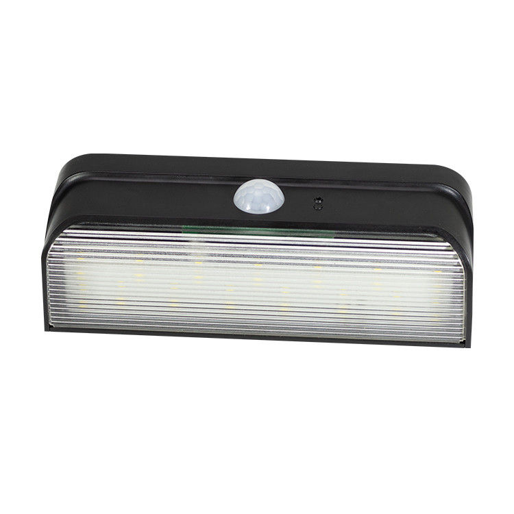 Wide Angle Motion Security Led Light Solar Powered Cool White 6000k High Brightness