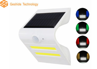 China Solar Powered Outdoor Motion Lights , Solar Led Motion Sensor Light For Backyard factory