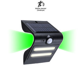 China Special Design Solar Wall Light With Pir Motion Sensor , Solar Panel Security Light factory