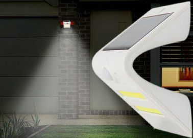 China Road Solar Motion Wall Light , Outdoor Solar Pir Security Light Rechargeable factory