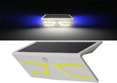 China Wall Mounted Solar Battery Powered Motion Lights With RGB Color Changing factory