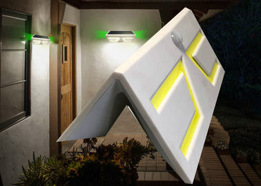 China Unique Solar Powered Motion Detector Outdoor Lights 1-2 Nights Discharging Time factory