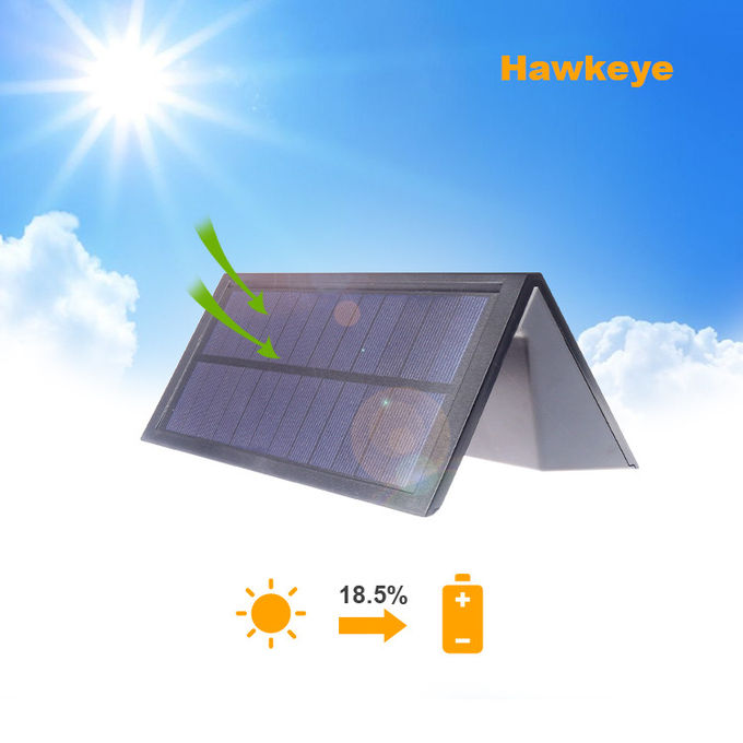LED 5w Solar Led Motion Activated Light , Bright Solar Security Light 3000mAh Battery